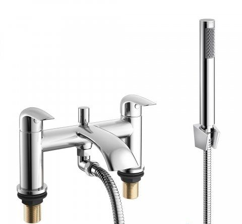 Melville Bath Mixer with Handheld Shower Head