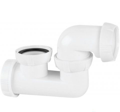 Wirquin Shallow One Piece Bath And Shower Trap
