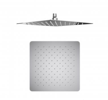 300x300mm Square Stainless Steel Shower Head - Premium Range