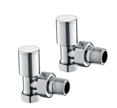 Heavy Duty Polished Chrome Plated Brass - Standard 15mm