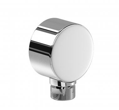 Round Wall Connector for Shower Hose
