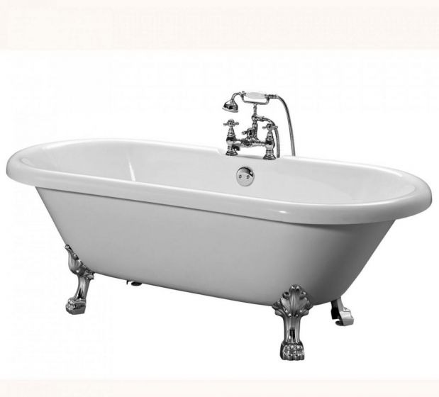Roll Top Baths - Victoria Traditional with Dragon Feet - 1800mm
