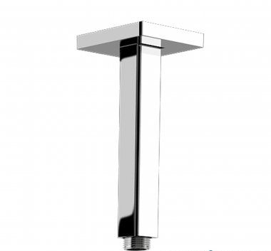 150mm Square Ceiling Mounted Shower Arm - Premium Range