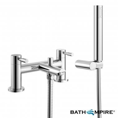 Gladstone Bath Mixer Shower Tap with Hand Held