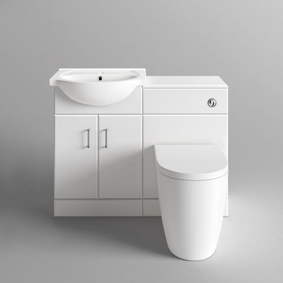Quartz Gloss White Combined Suite with Toilet and Basin-1048x820