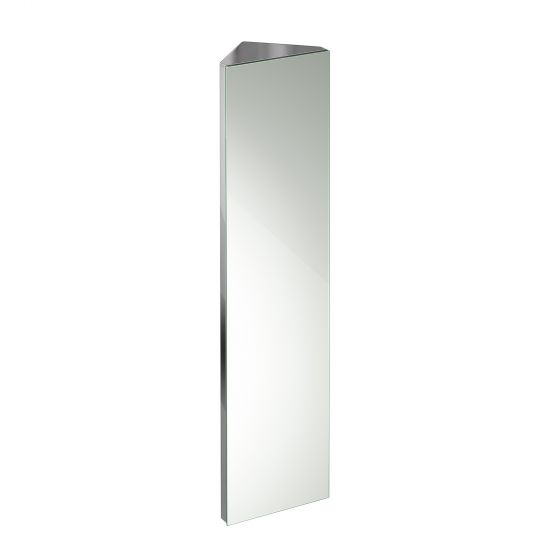 1200x300mm Liberty Stainless Steel Tall Corner Mirror Cabinet