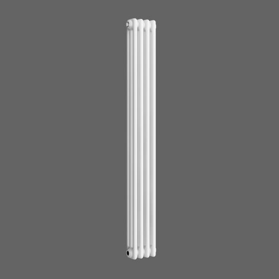 White Triple Panel Vertical Colosseum Radiator 1500x200mm