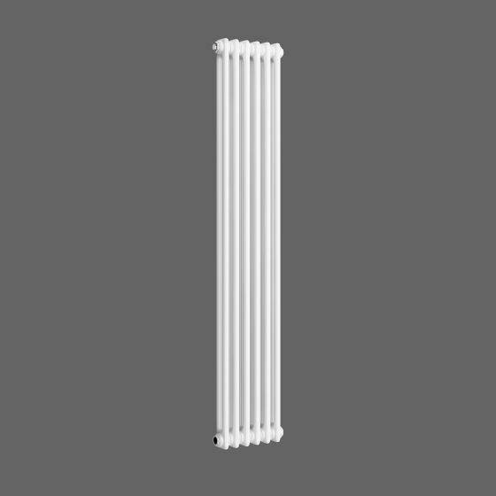 White Double Panel Vertical Colosseum Radiator 1500x290mm