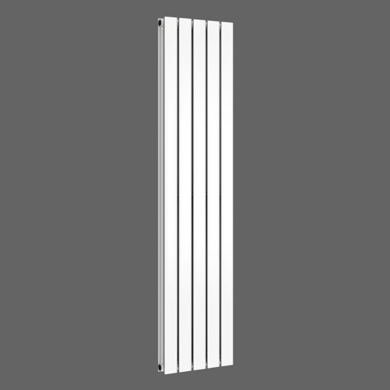 Gloss White Double Flat Panel Vertical Radiator 1600x376mm