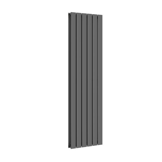 Anthracite Double Flat Panel Vertical Radiator 1600x452mm