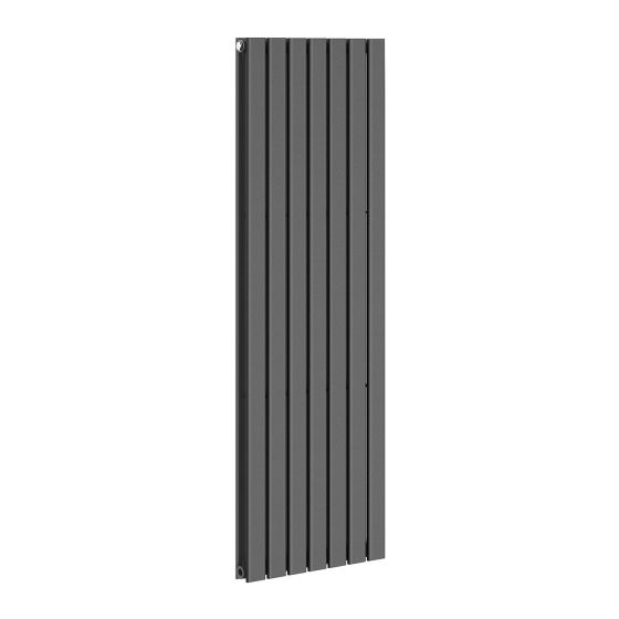 Anthracite Double Flat Panel Vertical Radiator 1600x532mm