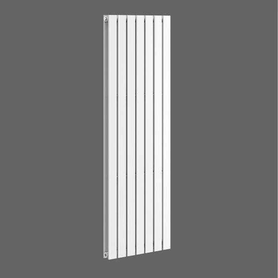 Gloss White Double Flat Panel Vertical Radiator 1600x532mm