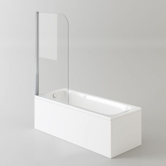 1700mm Straight Bath & Screen (Excludes Panels)