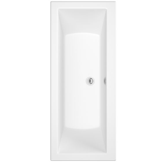 Square Double Ended Bath - 1700x700x540mm