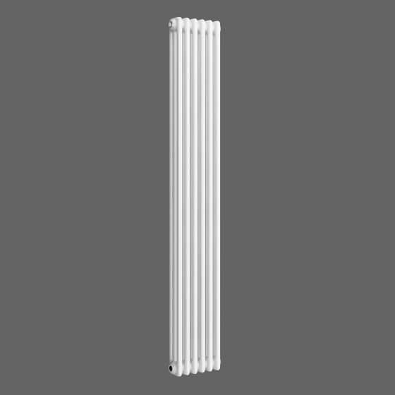 White Triple Panel Vertical Colosseum Radiator 1800x290mm