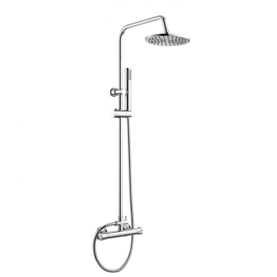 200mm Round Head - Thermostatic Shower
