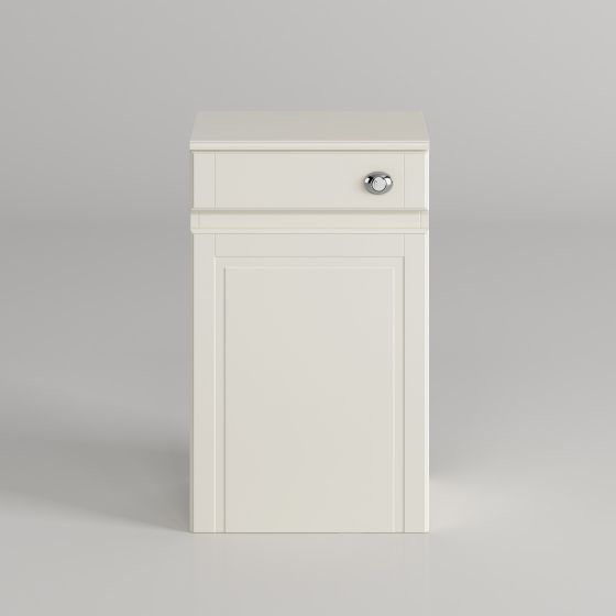 500mm Cambridge Ivory Back To Wall Toilet Unit