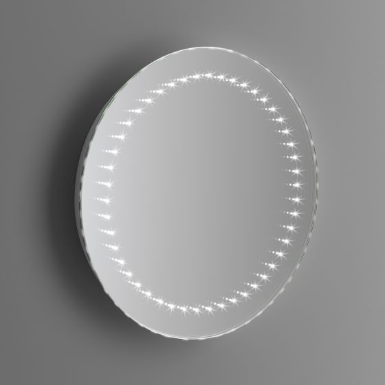 500x500mm Orb LED Mirror - Battery Operated