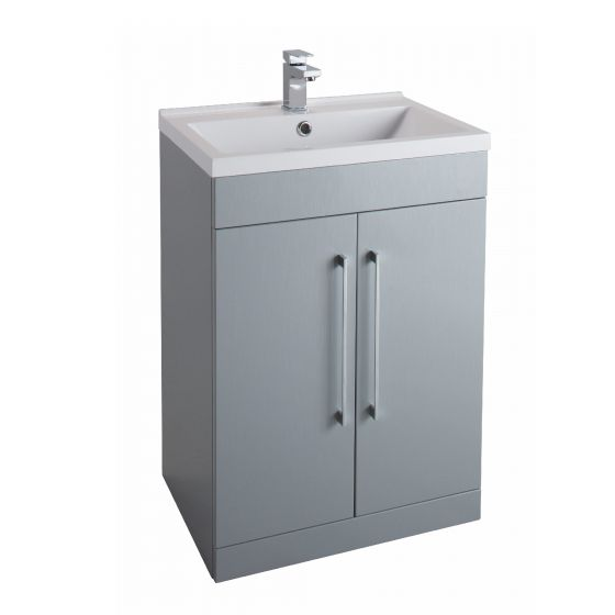 Icon Gloss White 600mm  Built in Basin Drawer Unit