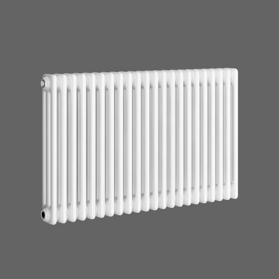 White Triple Panel Horizontal Colosseum Radiator 600x1000mm