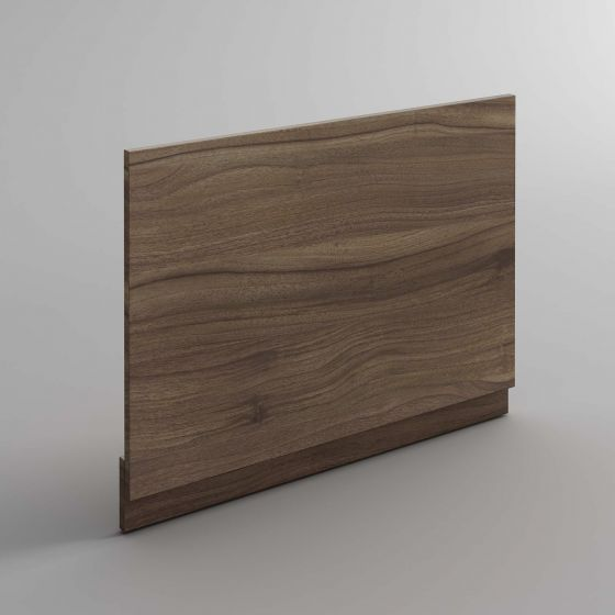 700mm Bath End Panel - Walnut Effect