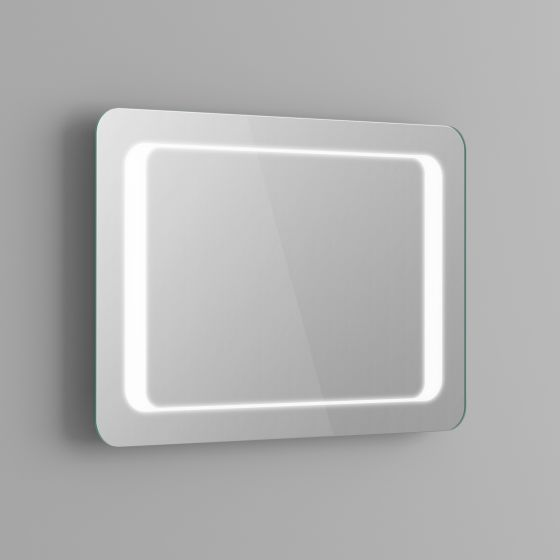 700x500mm Quaser Illuminated LED Bathroom Mirror