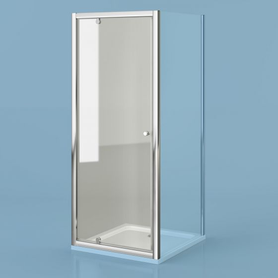 900mm - Elements Pivot Shower Door