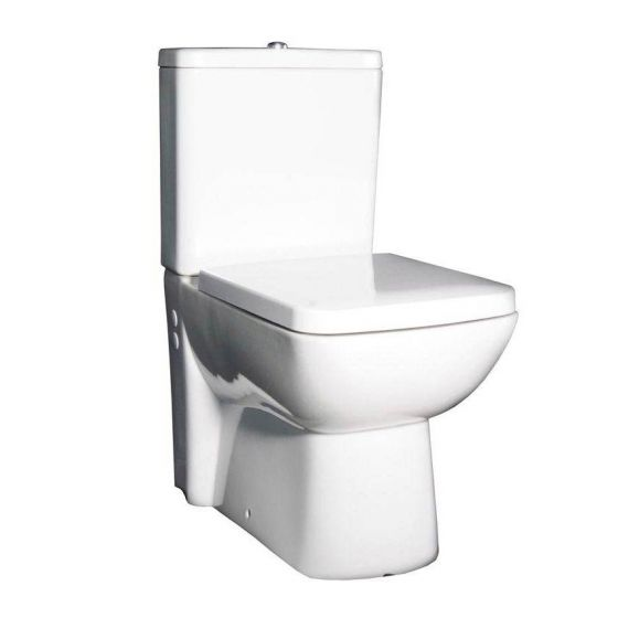 Hudson Reed - Compact Close-Coupled Toilet inc Soft-Close Seat
