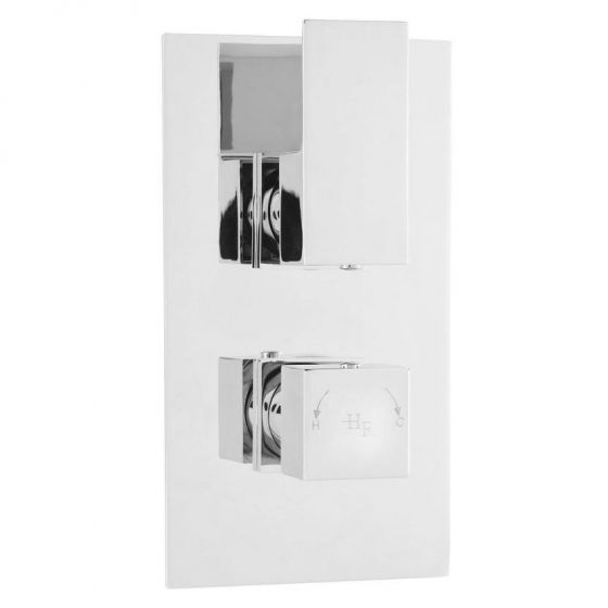Hudson Reed Art Twin Concealed Thermostatic Shower Valve with Diverter - ART320