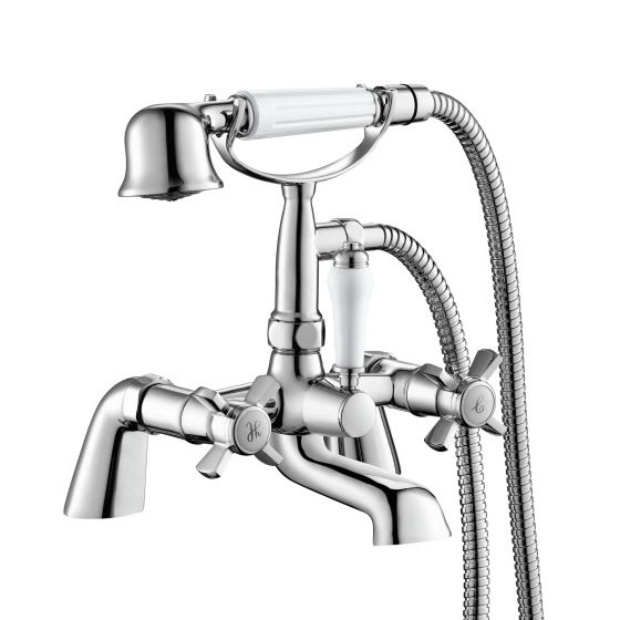 Loxley Bath Mixer Tap with Hand Held