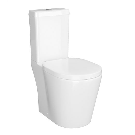 Albi Close Coupled Toilet & Cistern inc Soft Close Seat