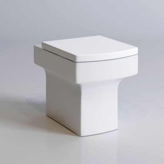 Belfort Back to Wall Toilet inc Soft Close Seat