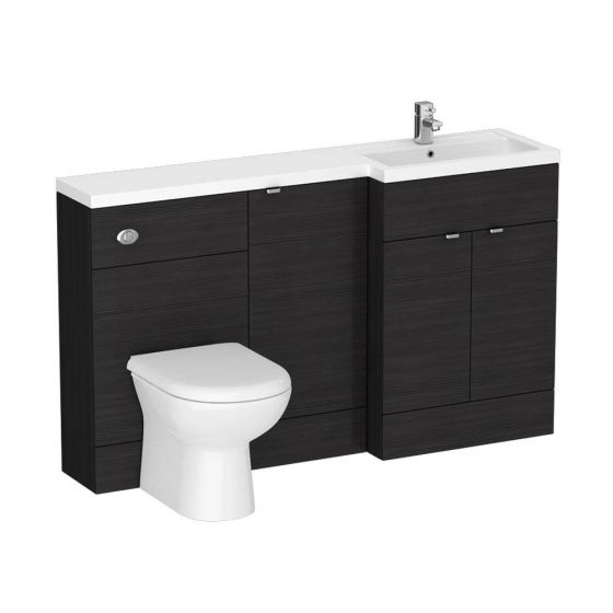Brooklyn Black Combination Furniture Pack - 1500mm Wide