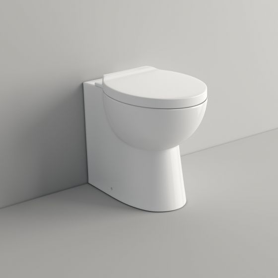 Crosby II Back to Wall Toilet inc Soft Close Seat