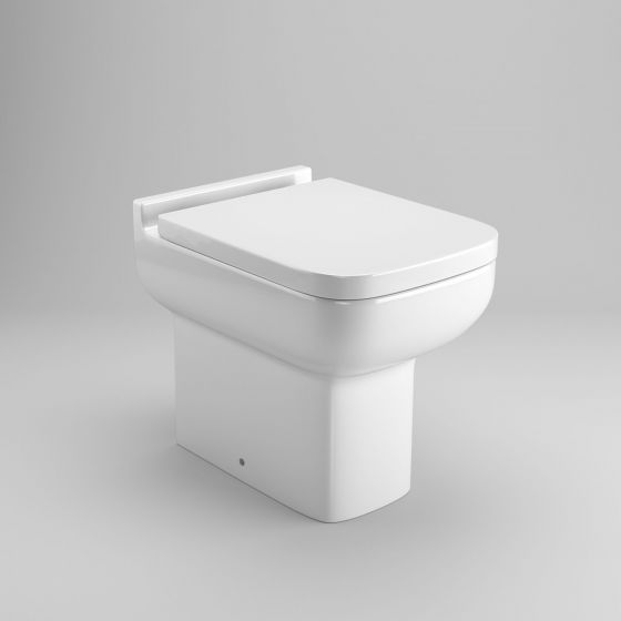 Della Short Projection Toilet Back to Wall Toilet inc Soft Close Seat
