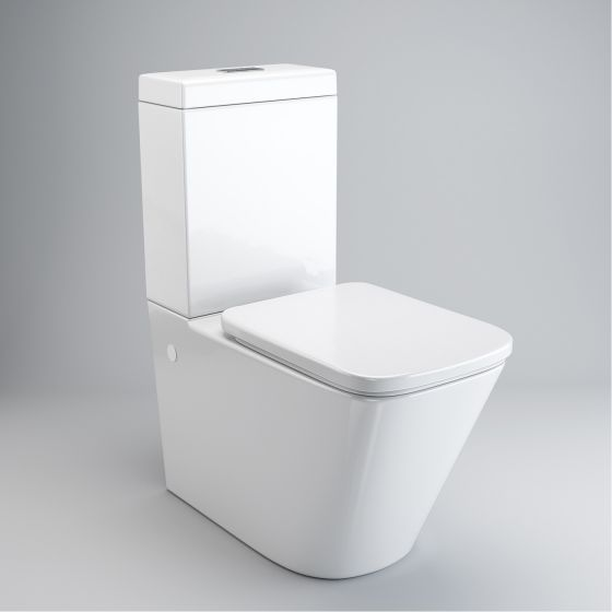 Florence Close Coupled Toilet & Cistern inc Soft Close Seat