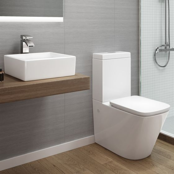 Florence Close Coupled Toilet & Counter Top Basin