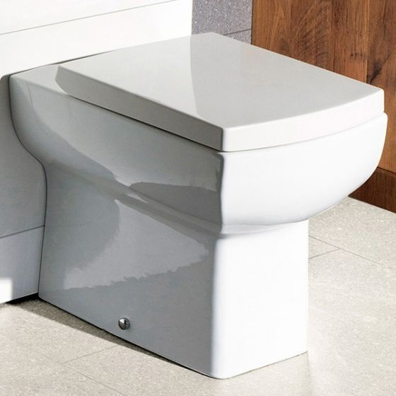 Maisy Lou Back to Wall Pan With Seat