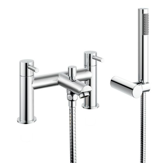 Gladstone II Bath Mixer Shower Tap with Hand Held