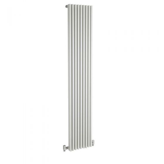 Hudson Reed Parallel Single Panel Designer Radiator 1800 x 342mm - White - HLW90