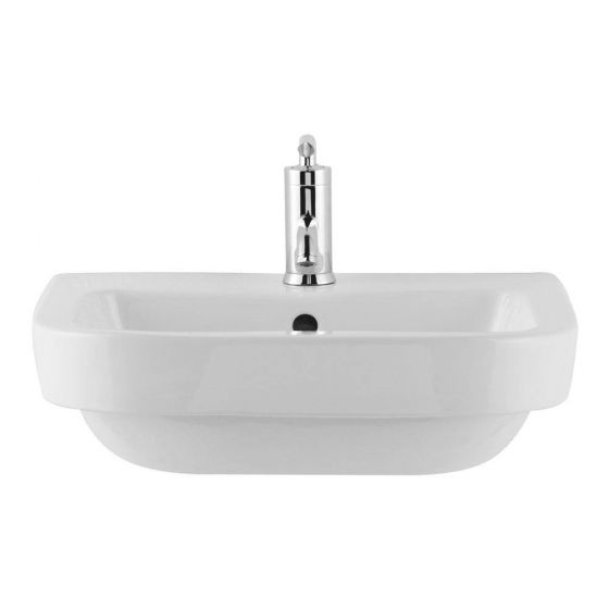 Premier Jenay 52cm Semi-Recessed Basin - 1 Tap Hole - LALIWH151