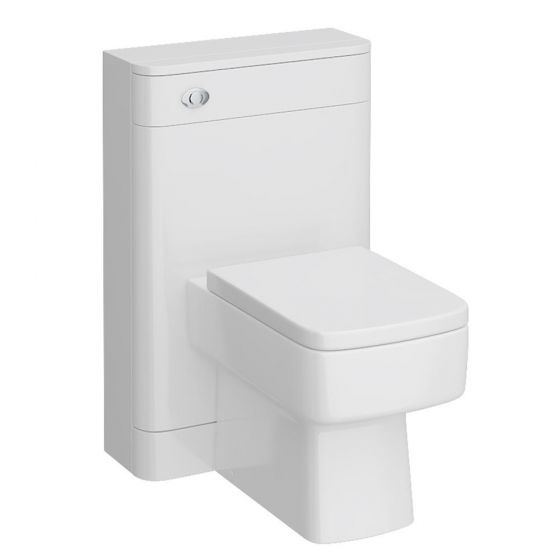 Monza 550mm BTW WC Unit with Bliss Pan & Standard Close Top Fix Seat