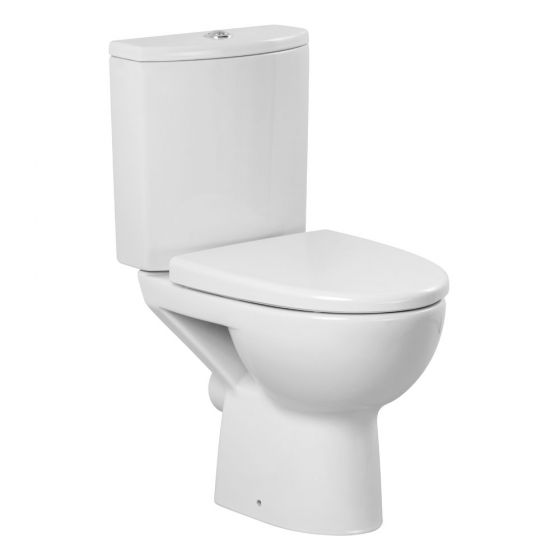 Premier - Pandora Short Projection Pan & Cistern with Soft Close Seat
