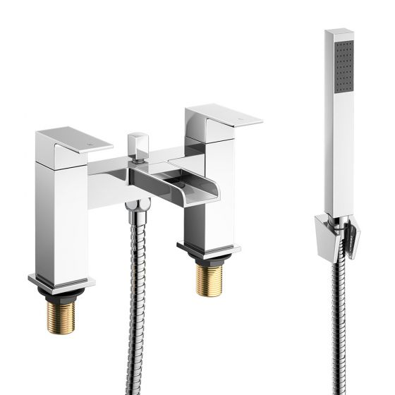 Niagra II Waterfall Bath Mixer Tap with Hand Held Shower