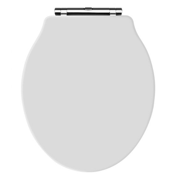 Old London - White Soft Close Toilet Seat (For Chancery Toilets) - NLS198