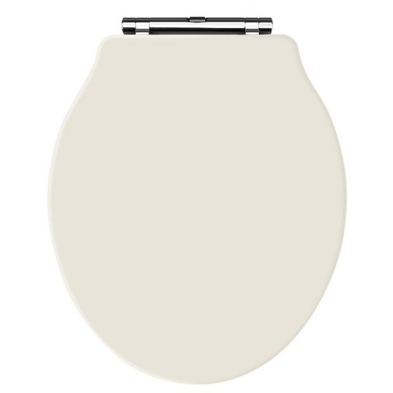 Old London - Ivory Soft Close Toilet Seat (For Chancery Toilets) - NLS398