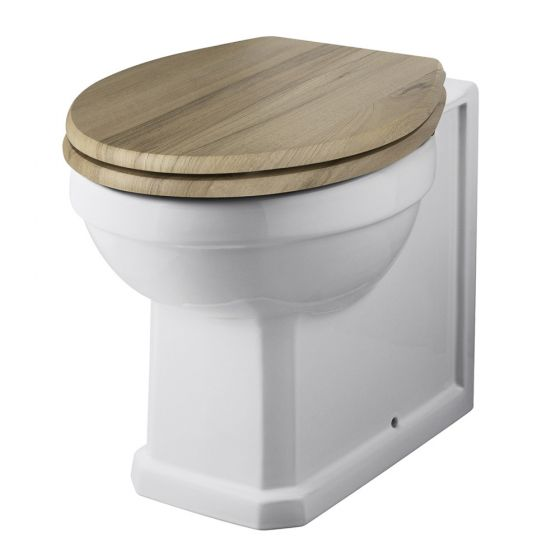 Old London - Richmond Traditional Back To Wall Pan (Excluding Seat) - LDC806