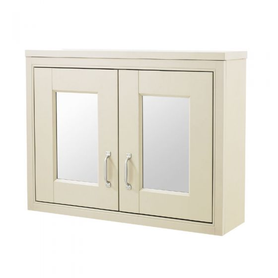 Old London - 800 Mirror Cabinet - Ivory - NLV315