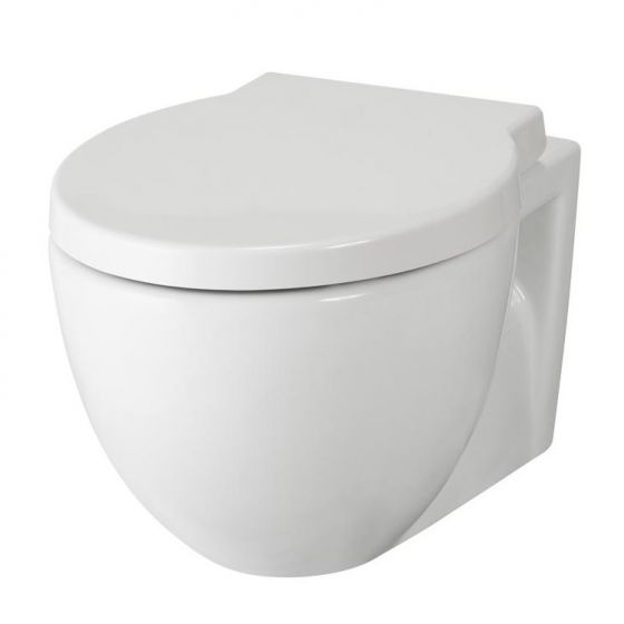Premier - Holstein Wall Hung Toilet with Soft Close Seat - NCR140