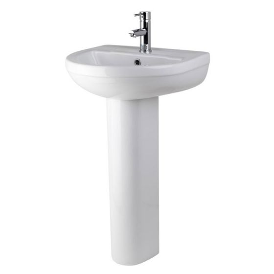 Premier - Ivo Basin 500mm 1TH with Full Pedestal